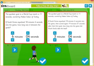 The World Cup Maths Challenge reveals a new question every day!