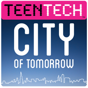 TeenTech City of Tomorrow Logo - Pink