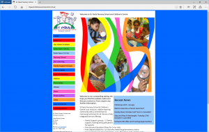 St. Pauls Nursery School and Children's Centre's previous website.